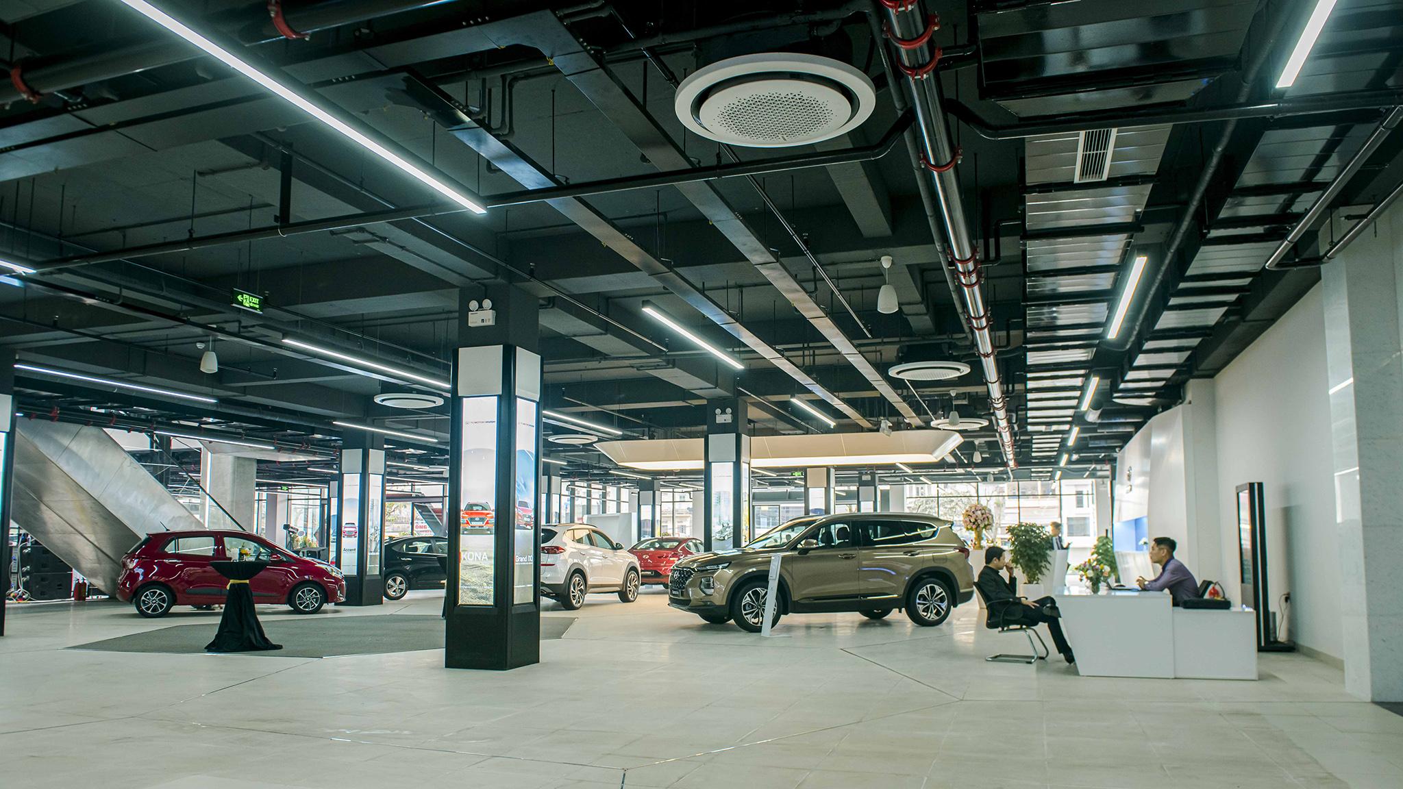 Trung tâm trải nghiệm sản phẩm và dịch vụ Hyundai